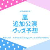 嵐グッズ 追加公演 andmore 2019