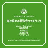 嵐を旅する展覧会 コラボグッズ ミッキー&フレンズ SHOGOSEKINE Noritake DaichiMiura ベアブリック
