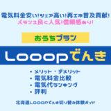 ループ電気 北海道 Looopでんき評判 新電力会社ベンチャートップランナー