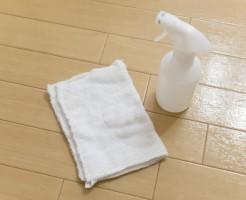 床拭き掃除