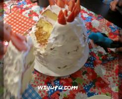 誕生日ケーキ手作り