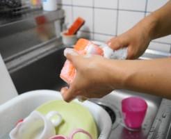 家事シェア食器洗い