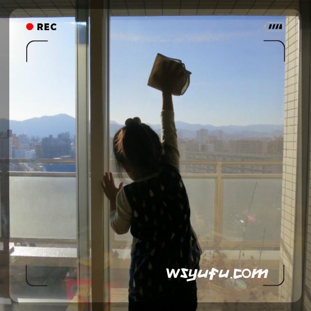 窓拭きの掃除