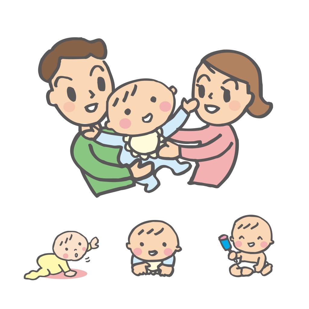 家族3人育休生活