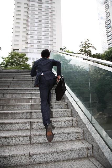 階段エクササイズ
