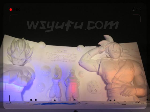 札幌雪まつりドラゴンボール大雪像