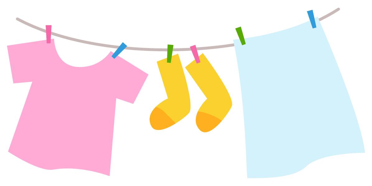 部屋干しした洗濯物の生乾き臭いの取り方を干し方の工夫で解決!