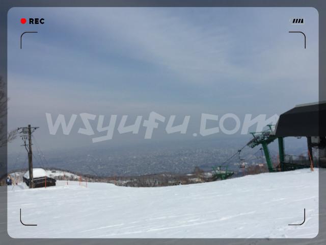 スキーパラダイステイネ山頂眺望