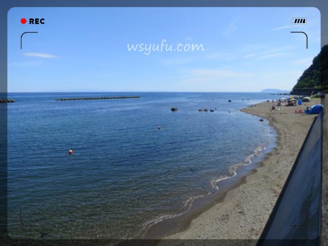 札幌から海水浴場 穴場 きれい 古平 歌棄海水浴場
