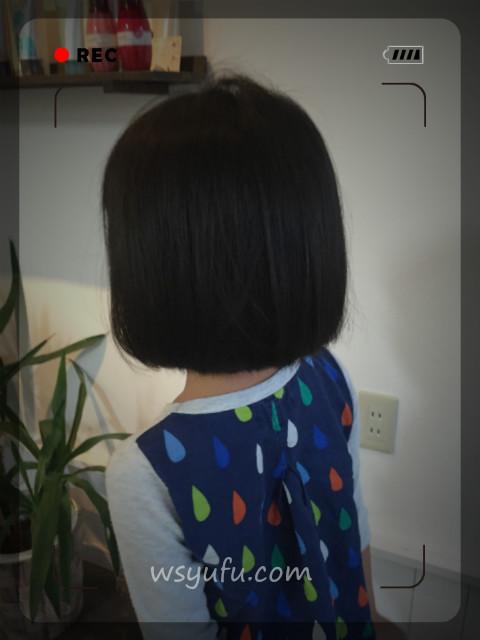 5歳女子の髪型イメチェン