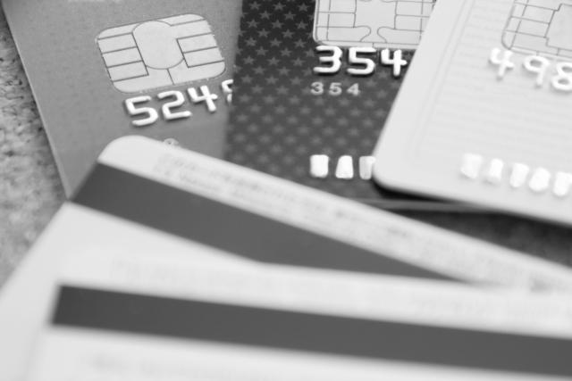 クレジットカード事業用と個人用に分ける