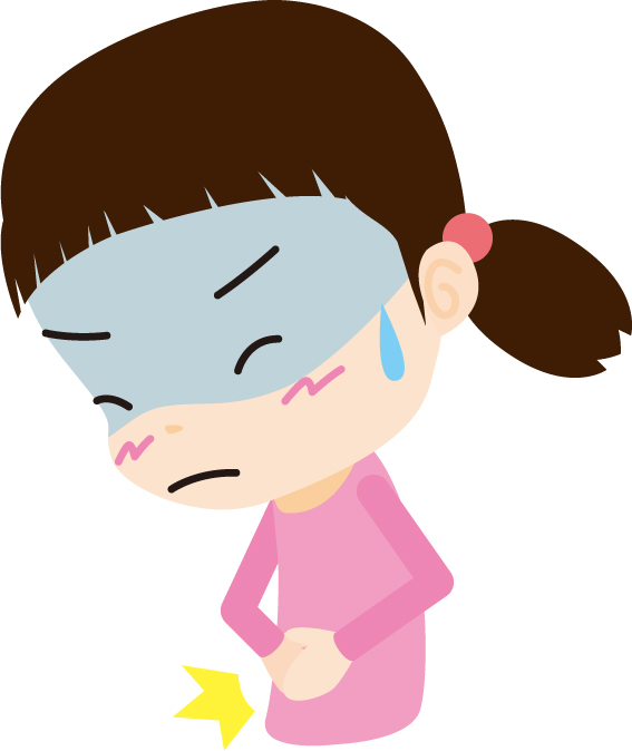 子供夜中嘔吐ウィルス性胃腸炎