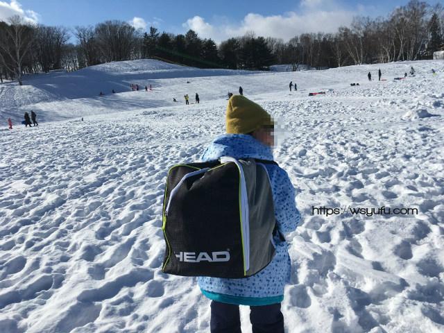 スキー靴 ケース リュック 小学生