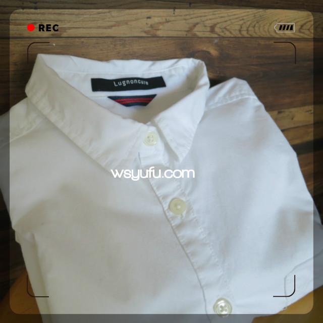 オキシクリーンベイビー白ワイシャツ洗濯