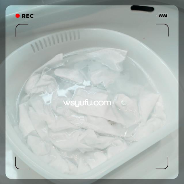 オキシクリーンワイシャツ真っ白洗濯