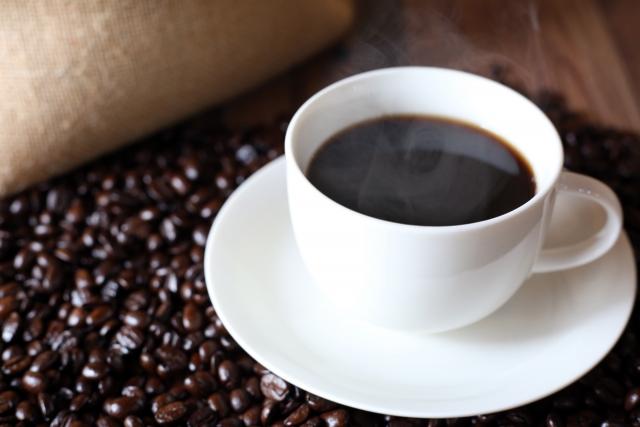 淹れたてコーヒーのプレゼント