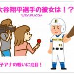 大谷翔平選手の彼女はhtb女子アナウンサー?