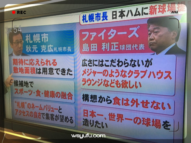 日本ハム球団の新球場に対する熱い想い!世界一の球場に!