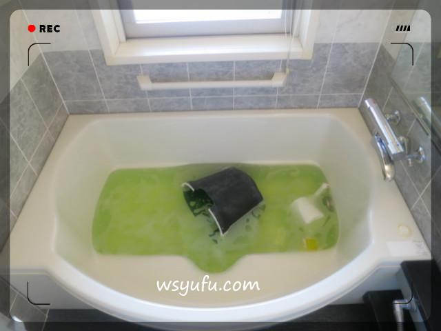 風呂釜洗浄一つ穴 酸素系漂白剤 オキシクリーン ジャバ 比較