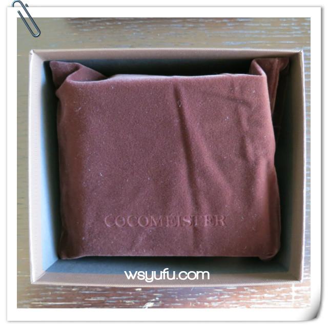 お父さん誕生日プレゼント ココマイスター二つ折り財布