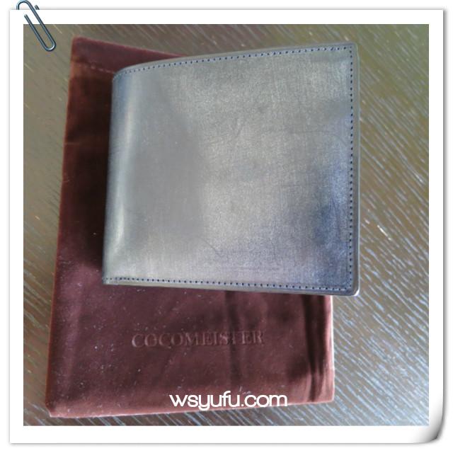 40代夫誕生日プレゼント ココマイスター二つ折り財布