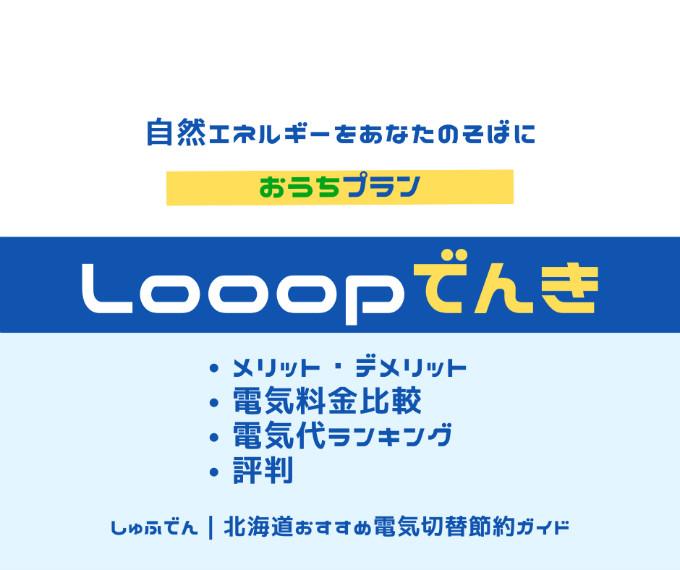 北海道 電気会社 おすすめ Looopでんき