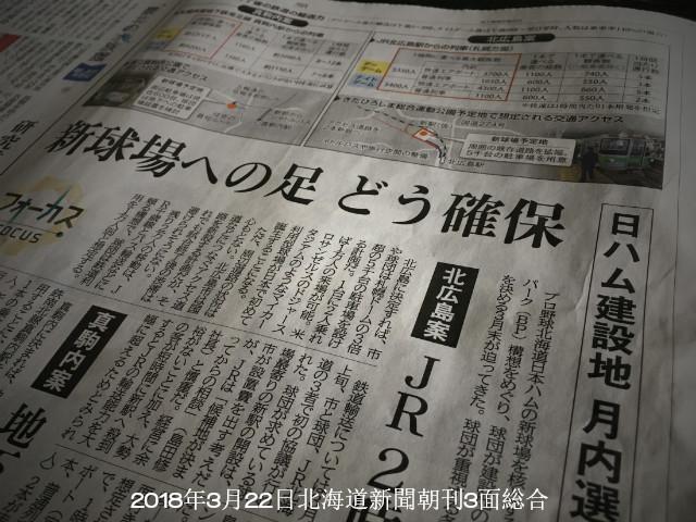 日本ハム新球場決定間近でマスコミ報道加熱 北海道新聞