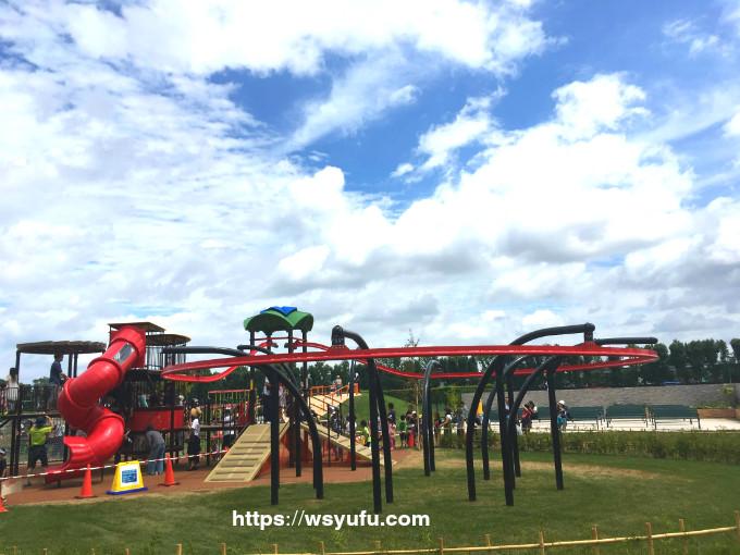 札幌競馬場 ターフパーク グラビティレール 子供 遊具