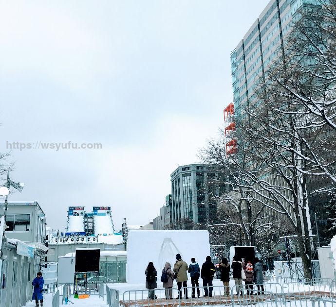 さっぽろ雪まつり2019 雪ミクAR