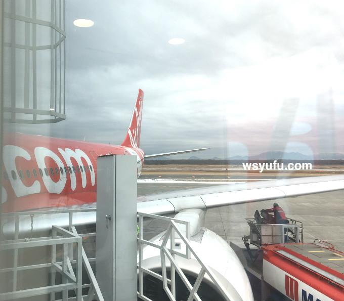 新千歳空港発 タイ バンコク 家族旅行 エアアジア