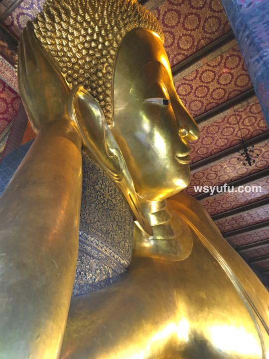 タイバンコク家族旅行 ワットポー 寝釈迦仏