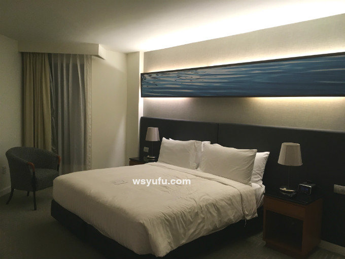 タイ 子連れ ホテル チャトリウムレジデンスサトーンバンコク ベッドルーム